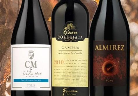 Colección de vinos Toro